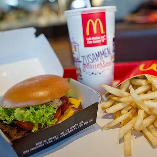 Еда с Макдональдса