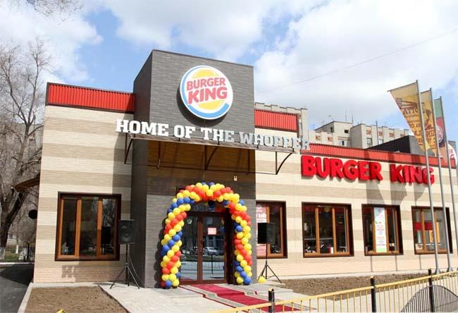Открытие ресторана Бургер Кинг