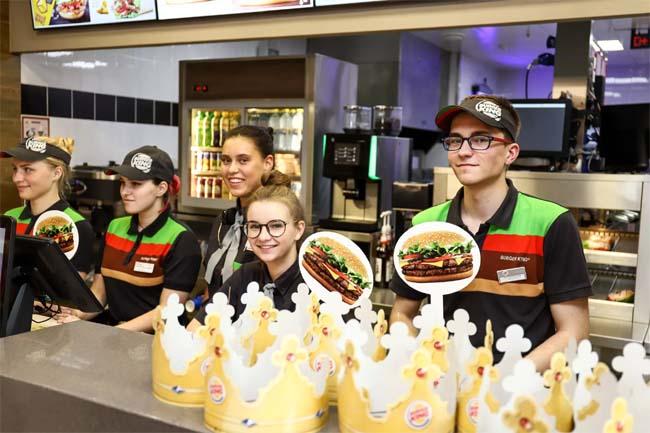 Работа для студентов в Бургер Кинг