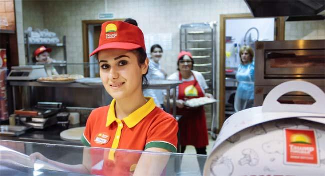 Работа в Ташир Пицца