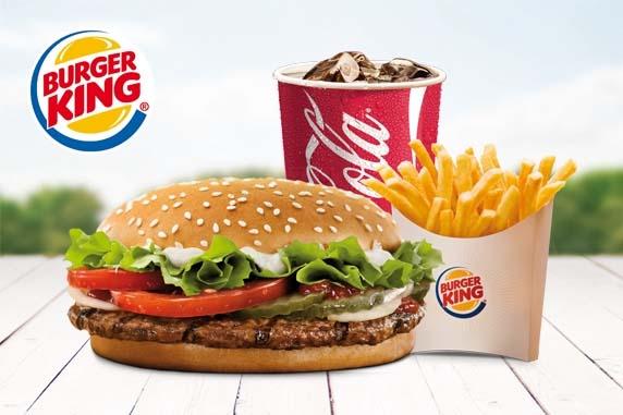 Еда из Бургер Кинг