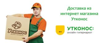 Доставка из интернет магазина Утконос