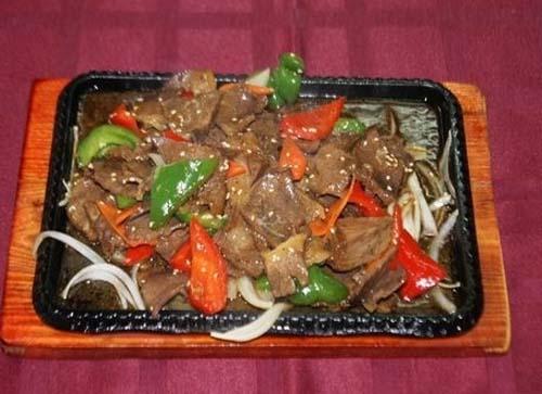 Говядина с овощами из ресторана доставки Дракон Азии
